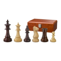 Chess figures - Claudius - wooden - Royal-Staunton - king size 83 mm