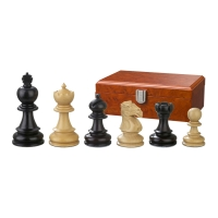 Chess figures - Galerius - wooden - Edel-Staunton - king size 90 mm