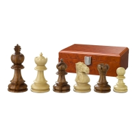 Chess figures - Valerian - wooden - Edel-Staunton - king size 90 mm
