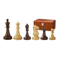 Chess figures - Augustus - wooden - Modern Staunton - king size 100 mm