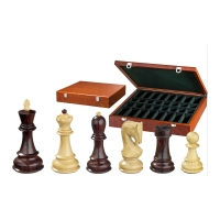 Chess figures - Peter der Gro�e - wooden - Russian Staunton - king size 95 mm