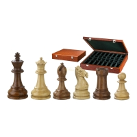 Chess figures - Karl der Gro�e - wooden - Classic Staunto - king size 95 mm