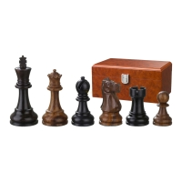 Chess figures - Skipio - wooden - Edel-Staunton - king size 95 mm