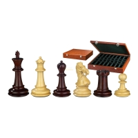 Chess figures - Gratianus - wooden - Edel-Staunton - king size 100 mm