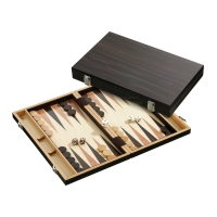 Backgammon - cassette - Viktor - wood - standard