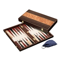 Backgammon - cassette - Sophie - wood - large