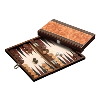 Backgammon - cassette - Mimis - wood - small