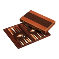 Backgammon - cassette - Charisis - wood - standard - Designed by Manopoulos