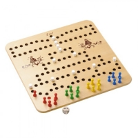 Pyramid Rally - Board Game - wood - large - 48 cm