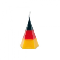 Candle - Germany - Diamond - 10 cm