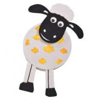 Wall lamp - lamp - sheep - approximately 64 x 35 cm