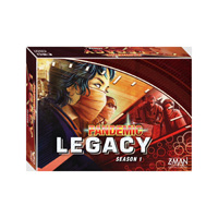 PANDEMIC LEGACY (RED EDITION) - englisch