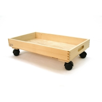 Toy box - Large box with 4 castors - 33mm