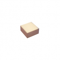 Building block - stone 1/2 - natural - 33x33x16mm - 33mm