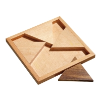 Jam Puzzle - Triangular - 4 puzzle pieces