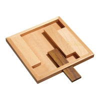 Jam Puzzle - Rectangular - 4 puzzle pieces