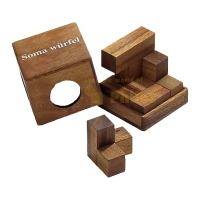 Soma-Cube - small - 7 puzzle pieces