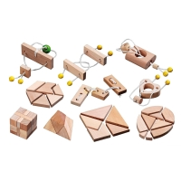 Mini Puzzle Assortment with 10 Puzzles
