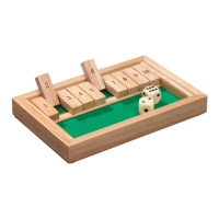 Shut The Box - mini - Hevea-Holz