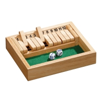 Shut The Box - 12er - klein - Kiefer
