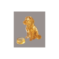 Crystal Puzzle - Golden Retriever