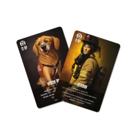 Flash Point - Fire Rescue - Veteran and Rescue Dog Accessory