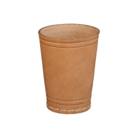 Leather Dice Cup - leather