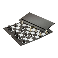 Chess - travel game - magnetic - plastic - 170 x 200 x 10 mm