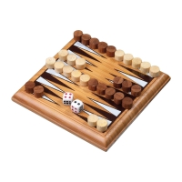 Backgammon - Minispiel - Bambus