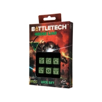 Battletech House Liao D6 Dice set - 6