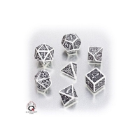 Celtic 3D Dice White und Black - 7