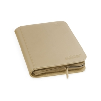 Ultimate Guard 4-Pocket Zipfolio Xenoskin Sand