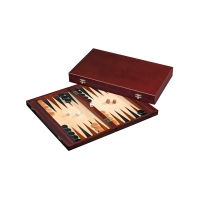 Tilos - groß - Backgammon  - Kassette - bordeaux