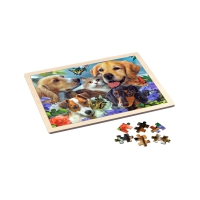 Wooden frame puzzle - Togetherness