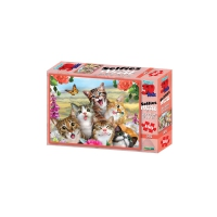 3D Puzzle Kids - 100 pieces - Cat Selfie