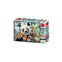 3D Puzzle - 500 Teile -  Zoo Selfie - Panda und Co