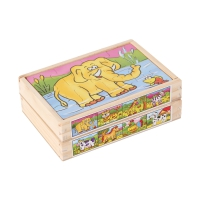 Puzzle Box Animals, Set of two