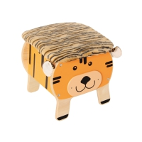 Chair and Toy Box Tiger