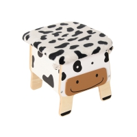 Chair and Toy Box Cow