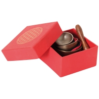 singing bowl set in box
