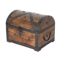Pirates treasure chest 32cm with handles