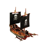 3D puzzle pirate ship Jack