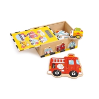 Puzzle box - vehicles