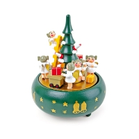 Music box - Christmas tree