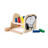 Peanuts Snoopy hammer bench