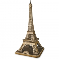 3D Eiffel Tower - large
