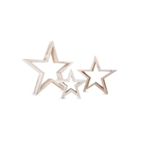 Decorations - star - white