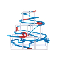 Paper track - marble run - 7 metres
