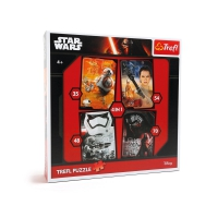 Star Wars Puzzle 4 in 1