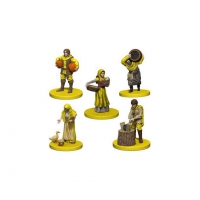 Agricola - Agricola Game Expansion - Yellow (5 Figures)
